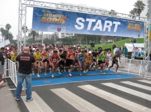 Starting Line Santa Monica 10000