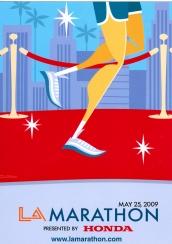Los Angeles Marathon Poster