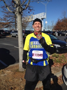 Scott at Atlanta Half Marathon