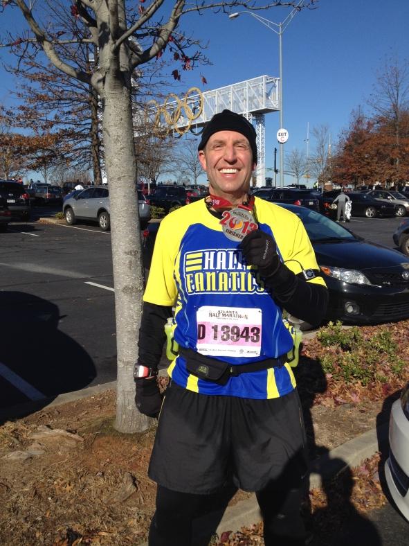Scott at Atlanta Half Marathon