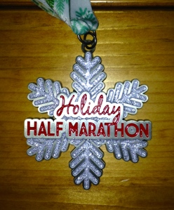 Holiday Half Medal