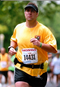 Scott at LA Marathon '09