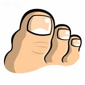 Toe cartoon