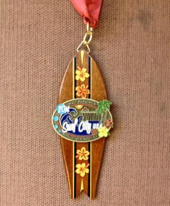Short board medal