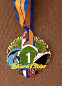 Surf Cities Challenge medal