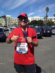 After LA Marathon