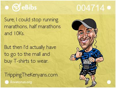 "eBib created at ""I <3 to Run"""
