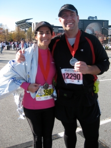 Turkey Day Half in Atlanta.