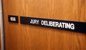 Running justice hard at work.
