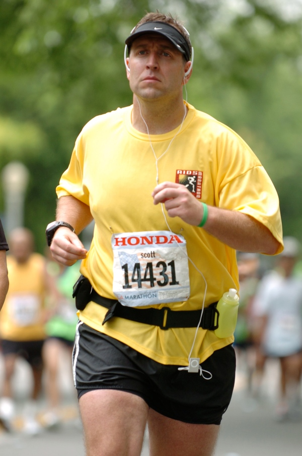 Finally... a marathon man.