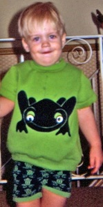 Me in my pre-Tripping The Kenyans days... rocking the froggy!