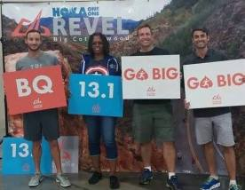 "This race is brought to you by the letters ""BQ"""