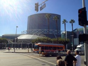 The Los Angeles Convention Center... aka home o' the expo.