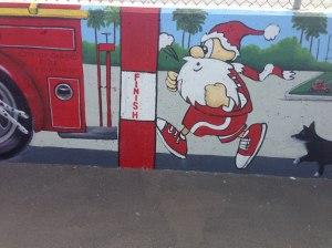 Keep Running Santa!