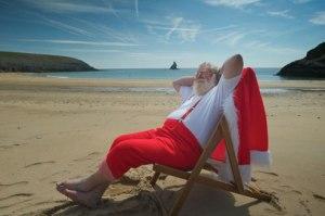 A ho-ho-holiday.