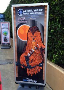 Star Wars signage.