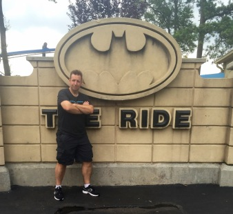Would you like to ride with Batman?