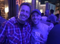 Being blue with Chris Daughtry.