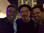 With Ruben Blades... check him out in FEAR THE WALKING DEAD