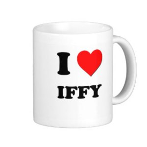 Cheers to the iffy.