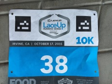 Lowest bib number ever.