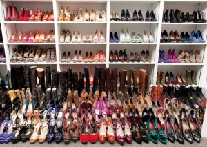 Can ladies every have enough shoes? Of course not.